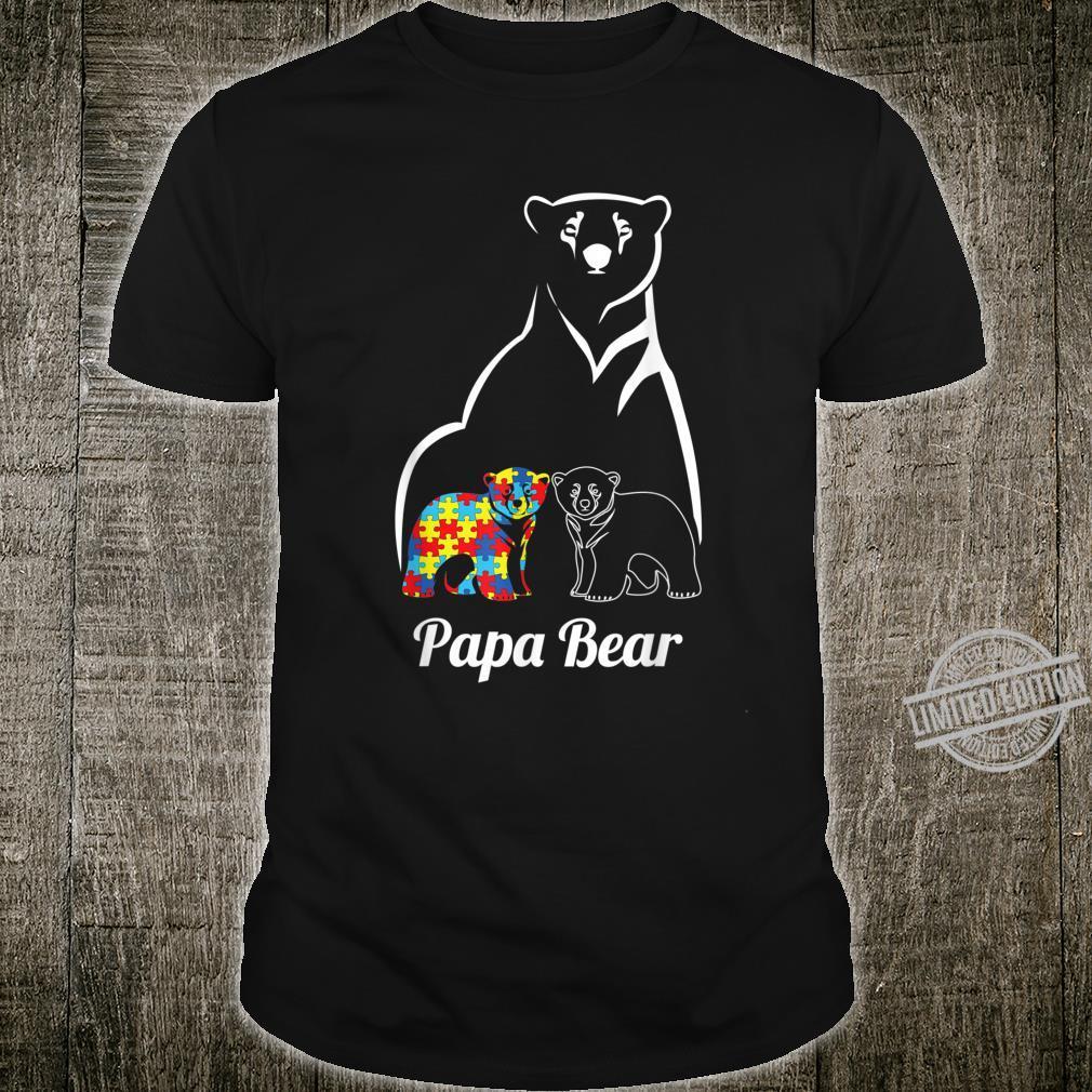Autism Awareness Papa Bear Shirt
