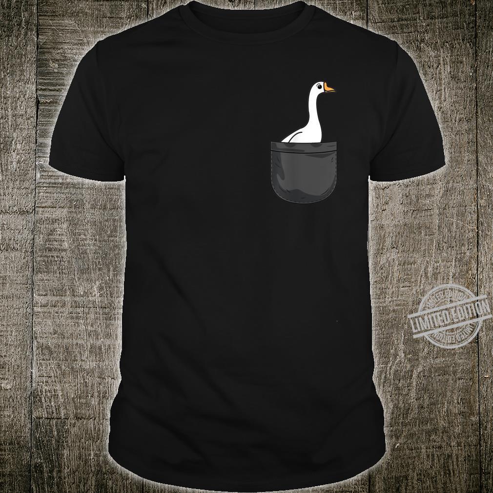 Gans in der Tasche Animals Shirt