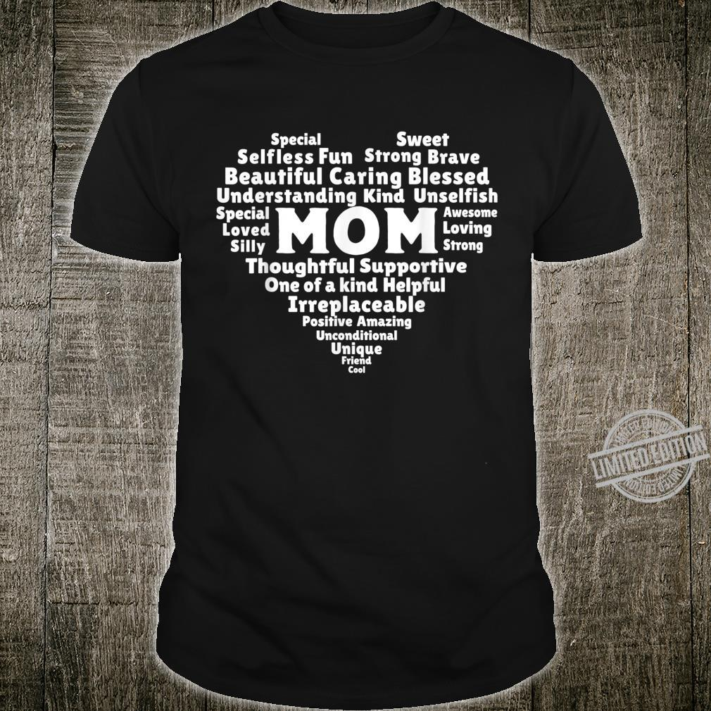 Heart Love Proud Best Mom Ever Definition Mother's Day Shirt